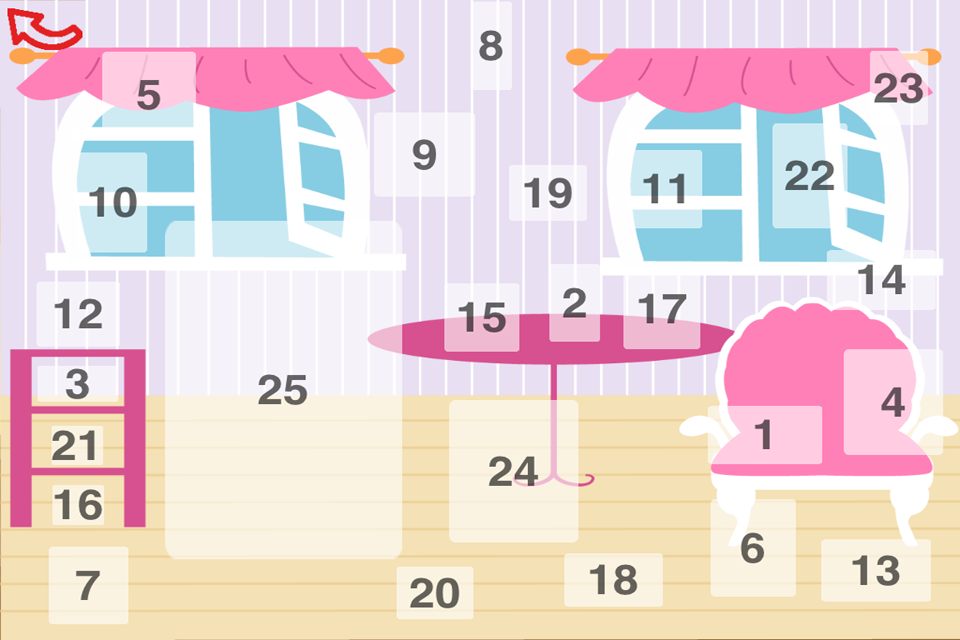 Screenshot Advent Calendar (different surprises for boys and girls)